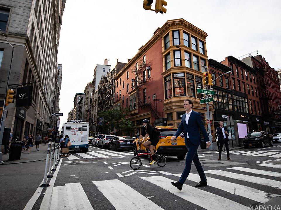 Bundeskanzler Kurz in New York