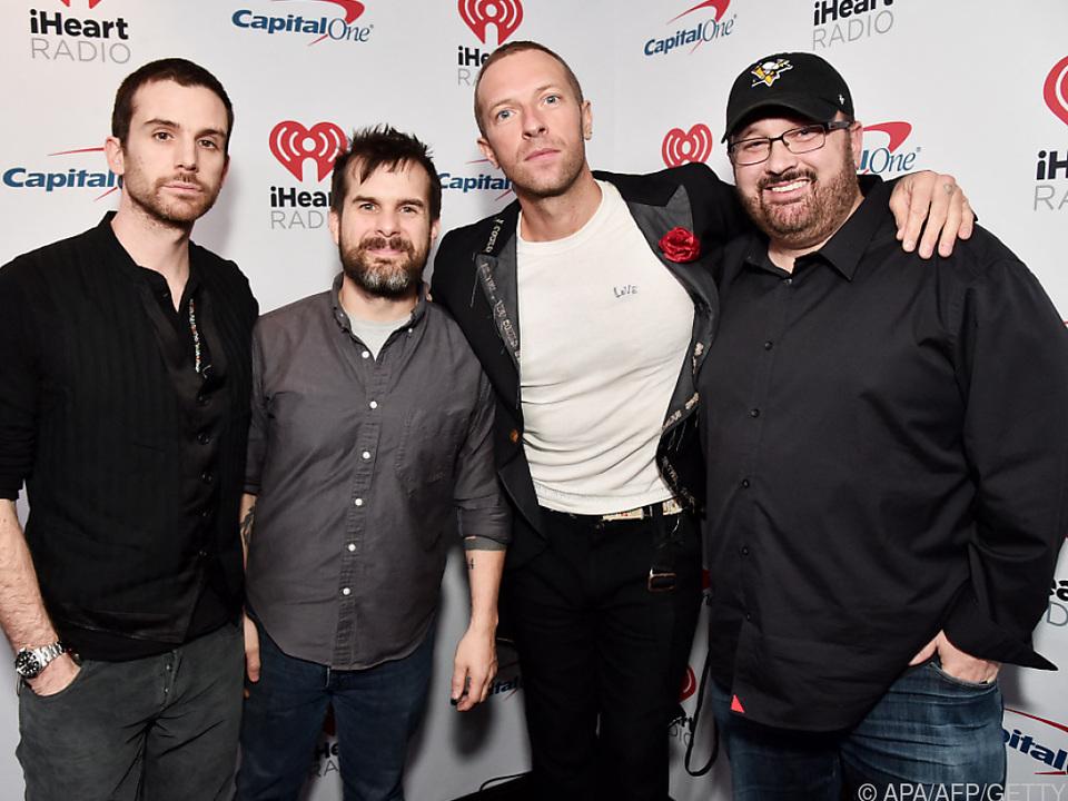 Coldplay kündigten ihr inzwischen neuntes Studialbum an