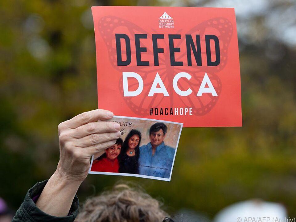DACA sorgt seit Jahren für Querelen in der US-Politik (Archivbild)