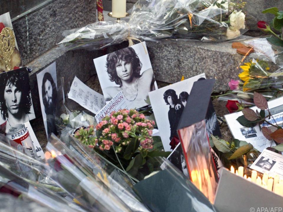 Das Grab von Jim Morrison (Archivbild aus 2003)