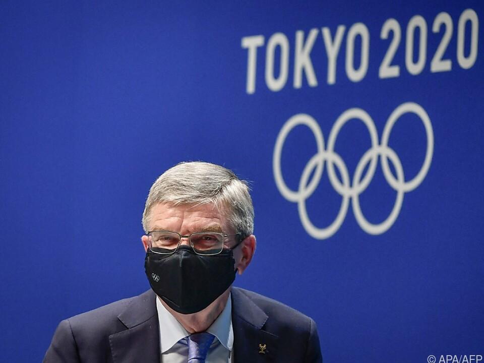 Der IOC-Präsident sprach von \
