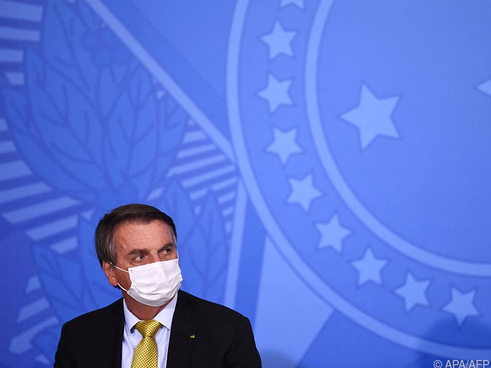 Der Präsident leidet seit mehr als zehn Tagen an Schluckauf