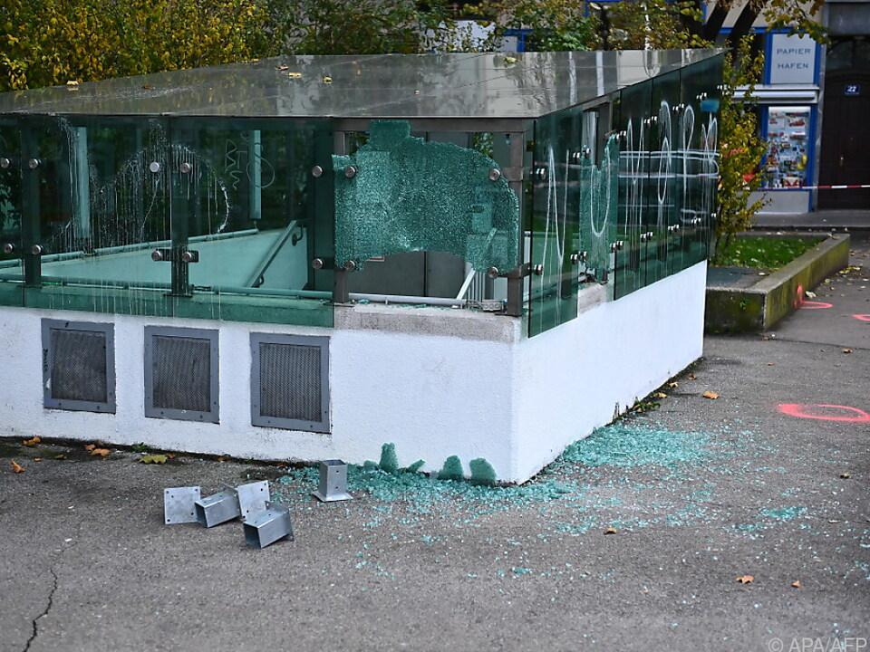 Der Schwedenplatz war einer der Anschlagsorte