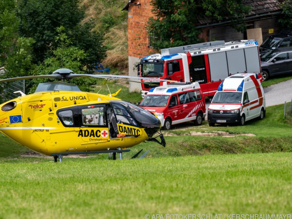 Die Kinder waren nach Graz in eine Spezialklinik geflogen worden