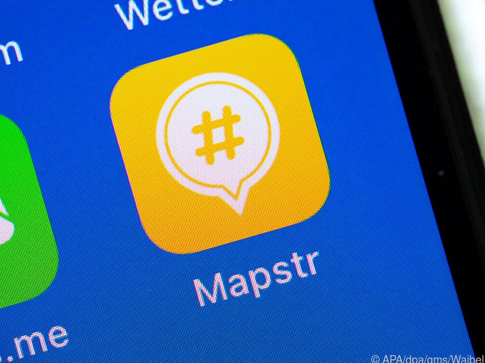 Die Navigations-App Mapstr ist eine Alternative zu Google Maps