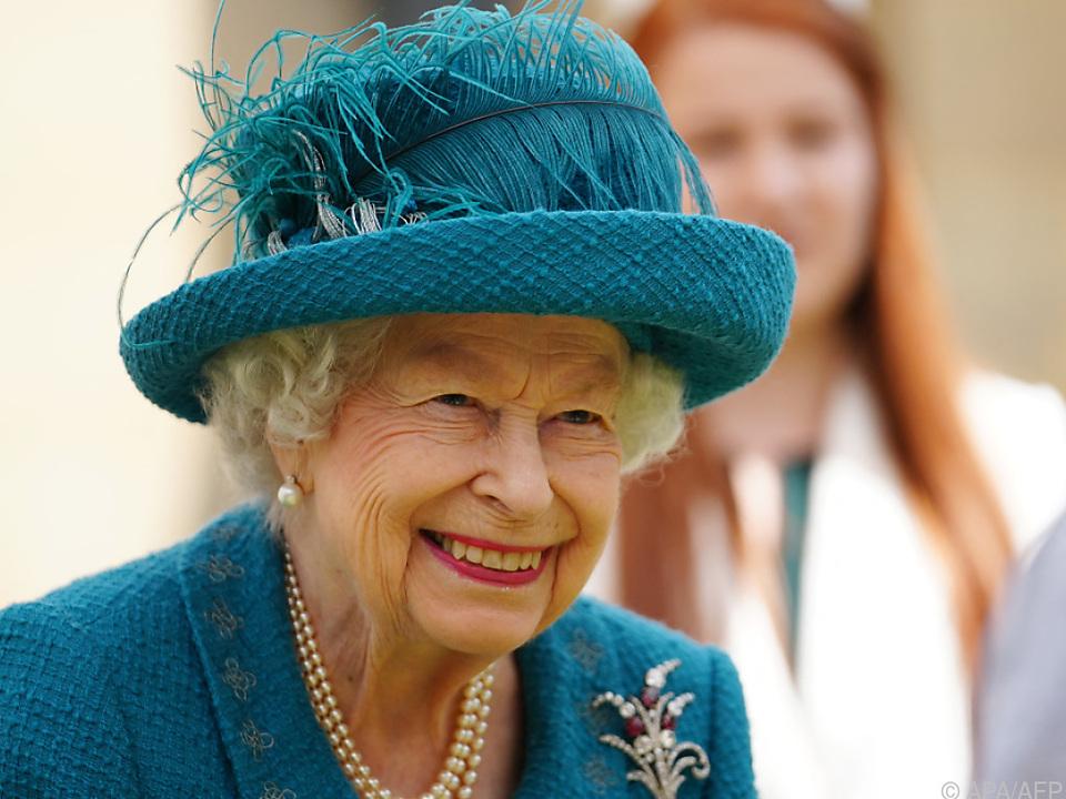 Die Queen würdigte \