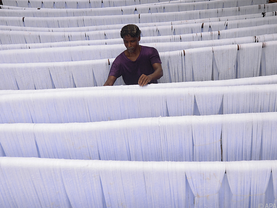 Die Textilbranche ist wichtiger Wirtschaftszweig in Bangladesch
