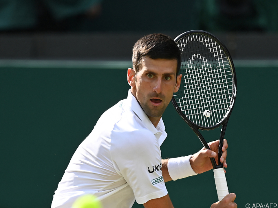 Djokovic im Wimbledon-Achtelfinale