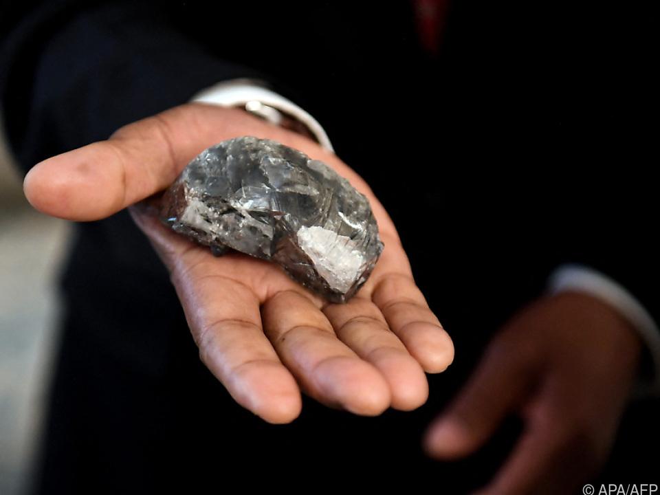 Drittgrößter Diamant der Welt mit 1.174 Karat