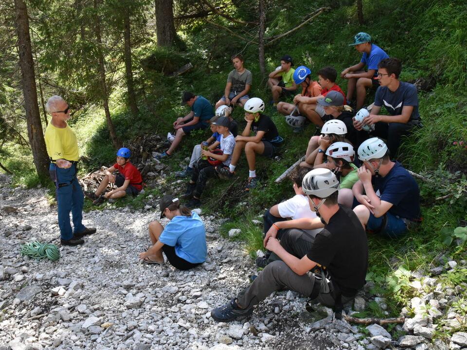 Einführungskurs ins Klettern © AVS Sektion Schlern