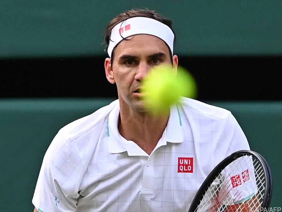 Federer blieb diesmal ohne Satzverlust