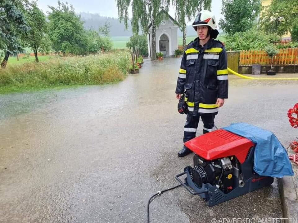Feuerwehren standen im Dauereinsatz
