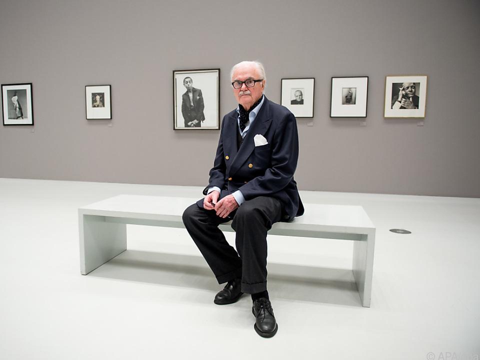 Fotograf F.C. Gundlach (hier 2016) mit 95 Jahren gestorben