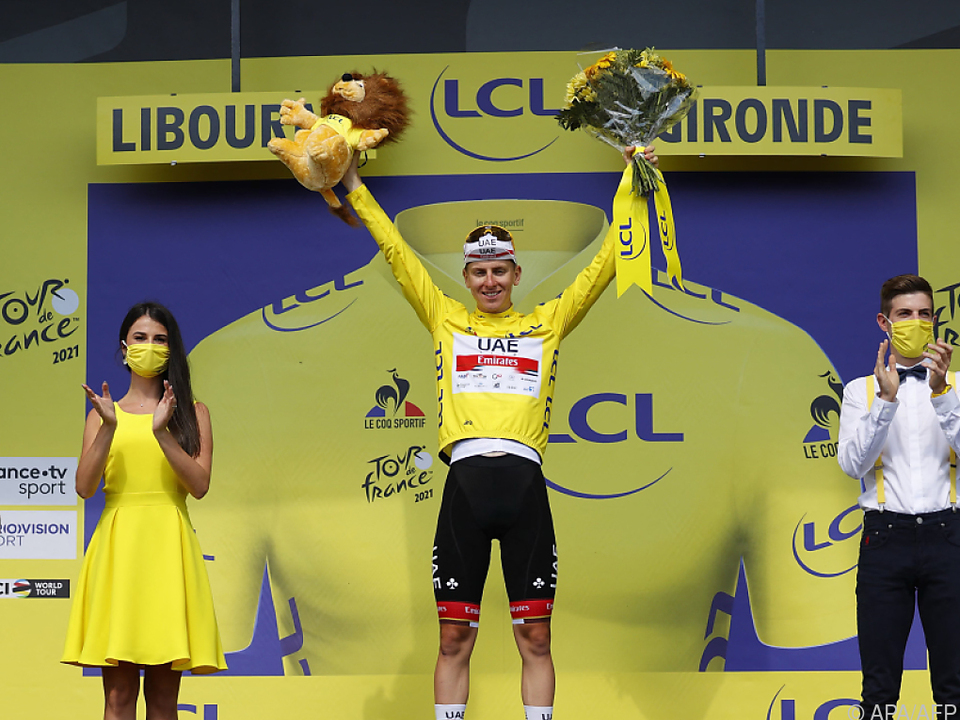 Fünffach-Sieger Eddy Merckx beklatschte den zweiten Tour-Gesamtsieg von Tadej Pogacar
