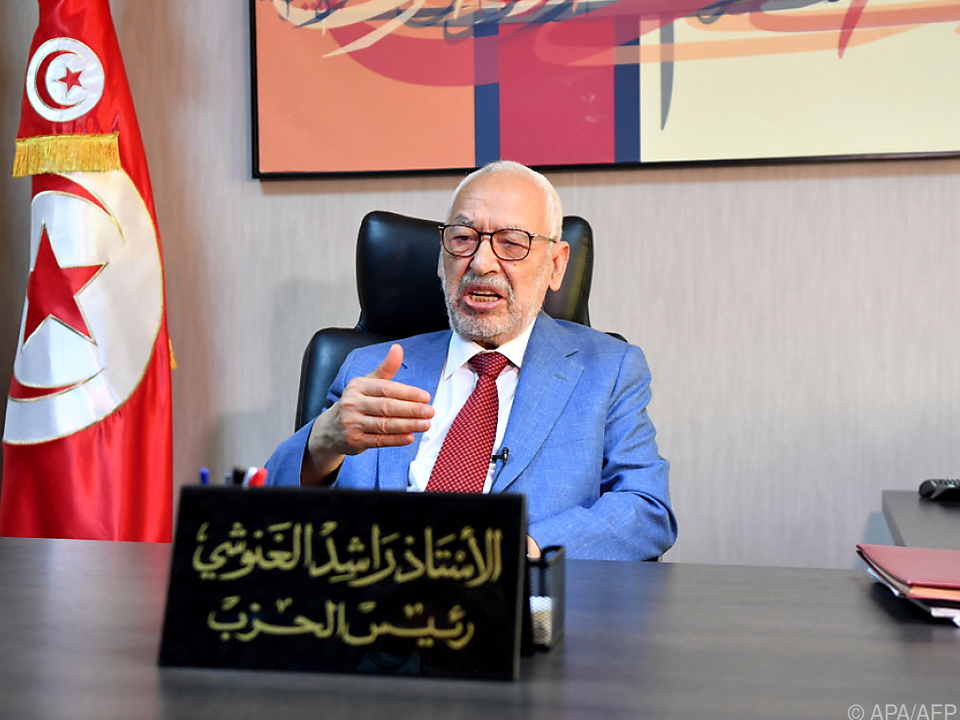 Ghannouchi beklagt fehlenden Dialog mit dem Präsidenten