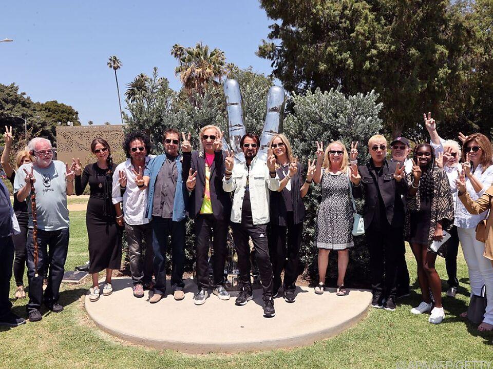 Große Geburtstagsfeier für Ringo Starr