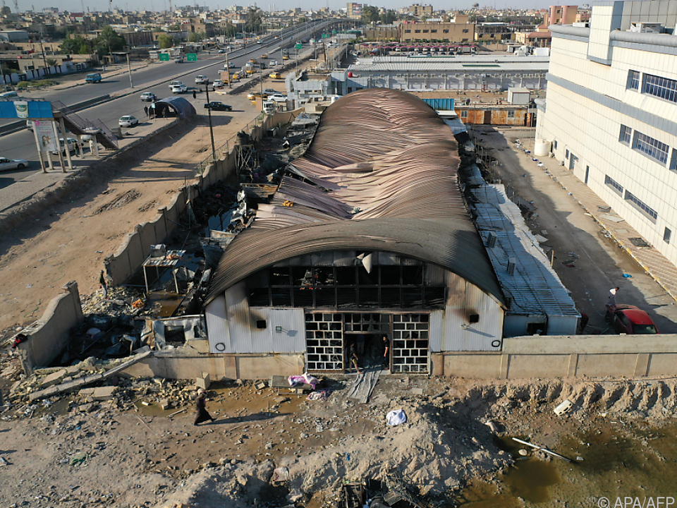 Große Zerstörung nach Brand in Isolierabteilung