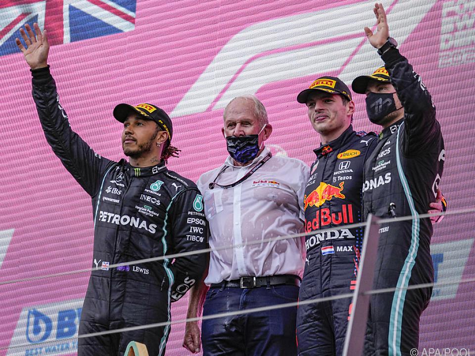 Hamilton, Marko und Verstappen - Schlüsselfiguren in der F1-WM