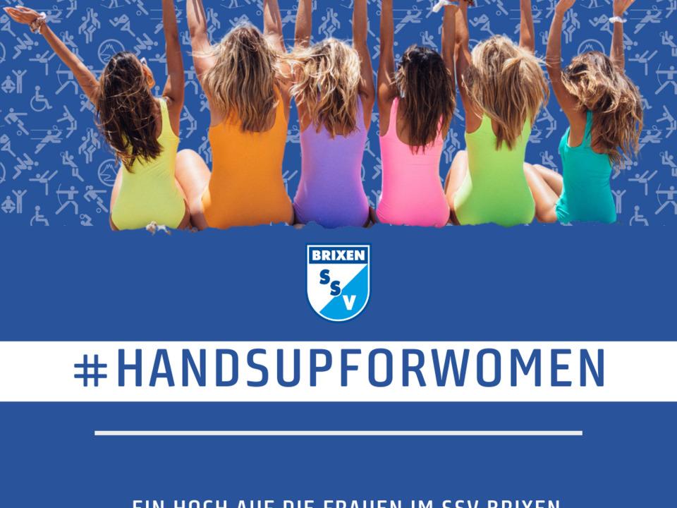 #handsupforwoman SSV Brixen
