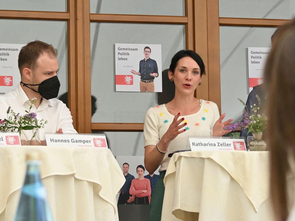 Hannes Gamper und Katharina Zeller