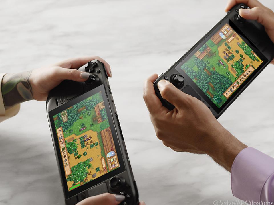 Hersteller Valve hat mit dem Steam Deck ein mobiles Spielegerät angekündigt