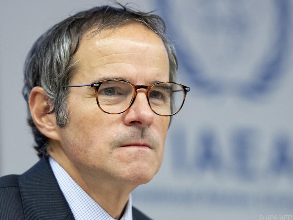 IAEA-Chef Grossi attestiert dem Iran neue Verstöße