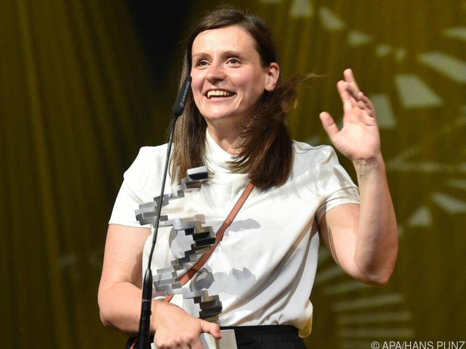 Ihr Film räumte vier Preise ab: Regisseurin Sandra Wollner
