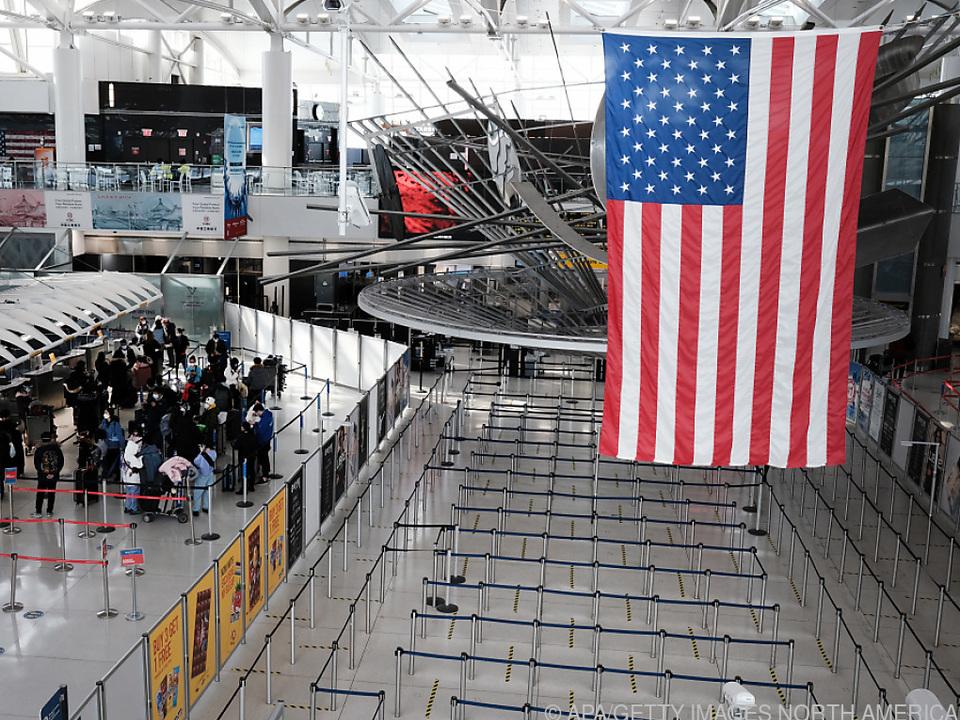 Innenansicht von US-Flughäfen bleibt Ausländern weiter vorenthalten