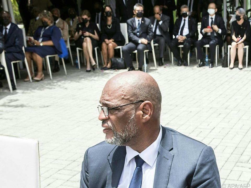 Interims-Regierungschef Ariel Henry