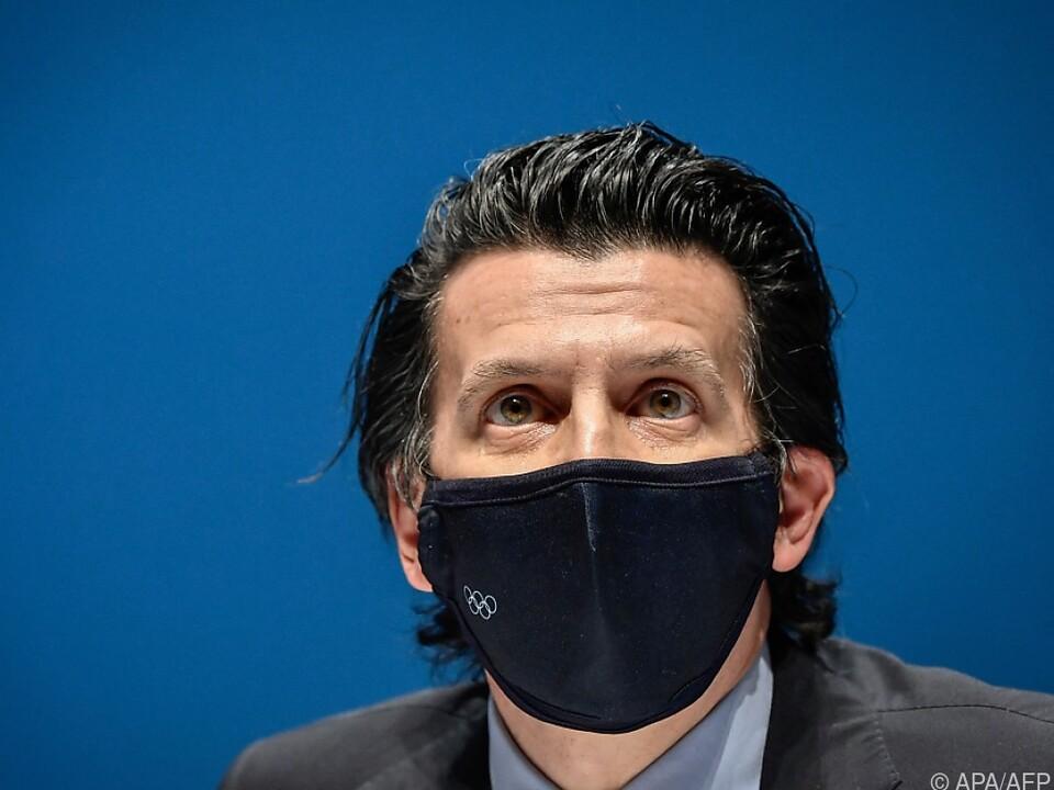 IOC-Exekutivdirektor Dubi informiert über Corona-Infektionen