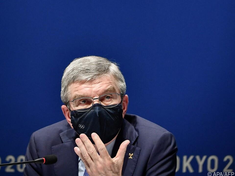 IOC-Präsident Bach glaubte an \