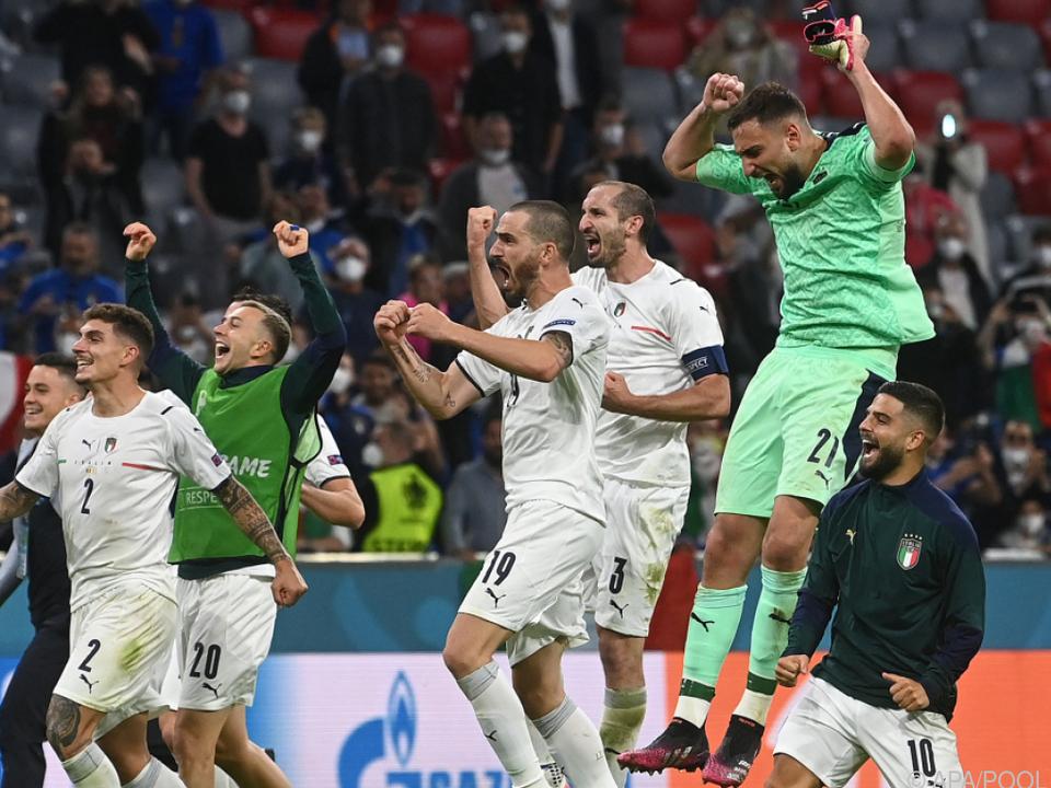 Italiens Team will Traum vom ersten großen Titel seit 2006 erfüllen