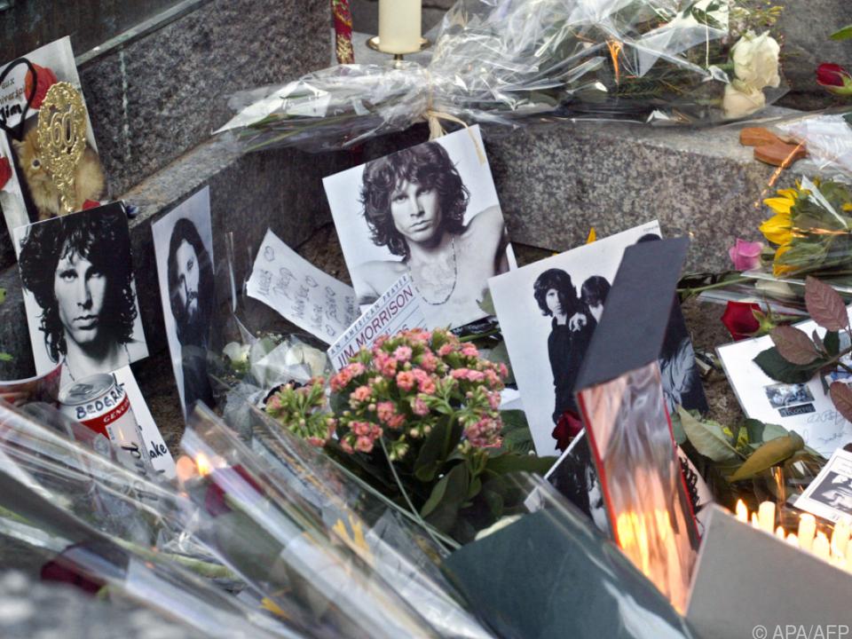Jim Morrison gilt als Rock-Legende