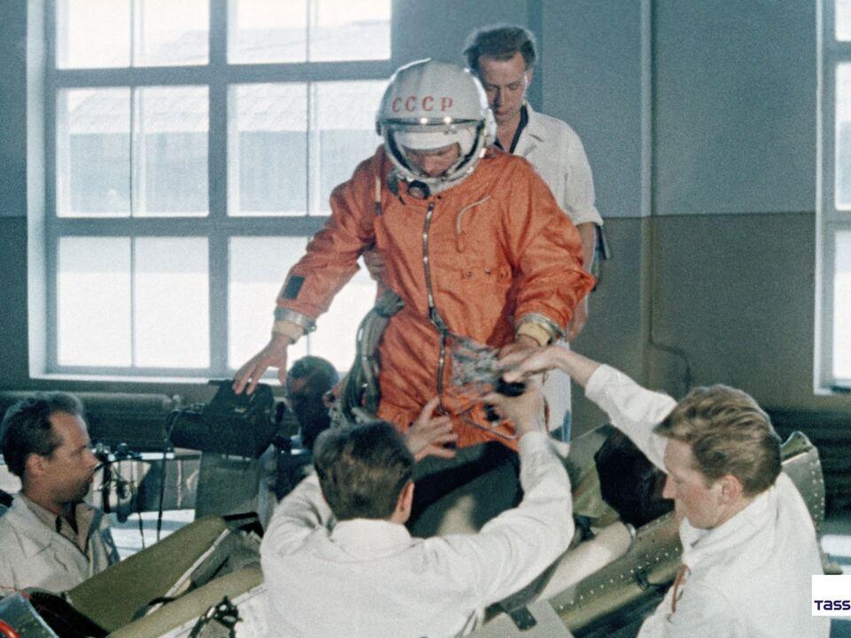 Juri Gagarin_© TASS, 1961