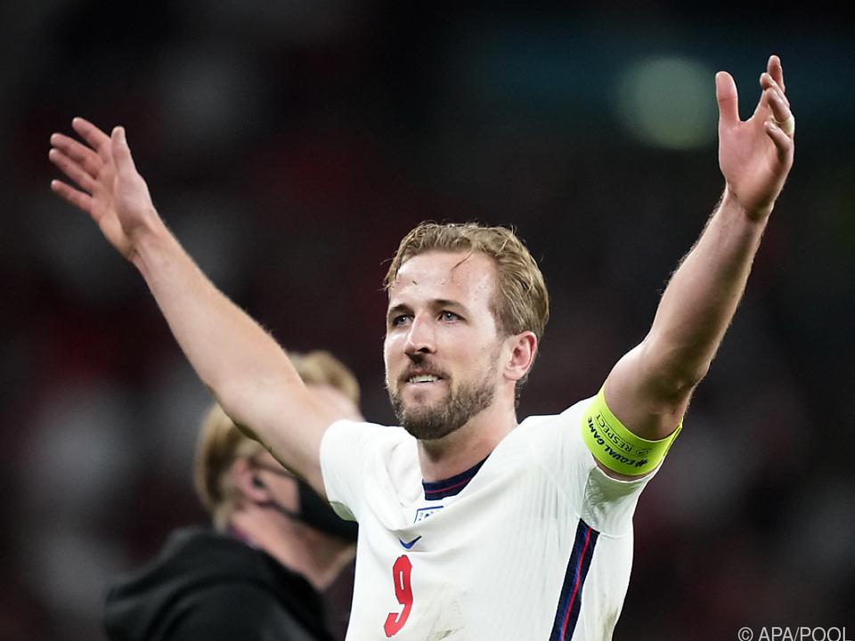 Kapitän Kane will England zum ersten großen Titel seit 1966 führen