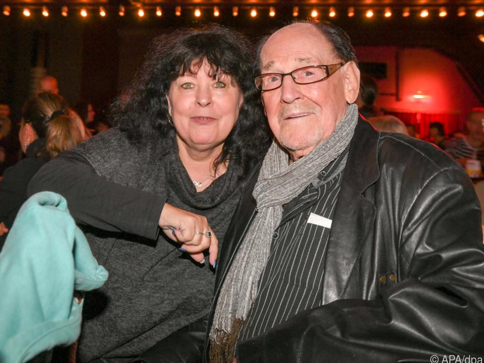 Köfer mit seiner Frau im Oktober 2019