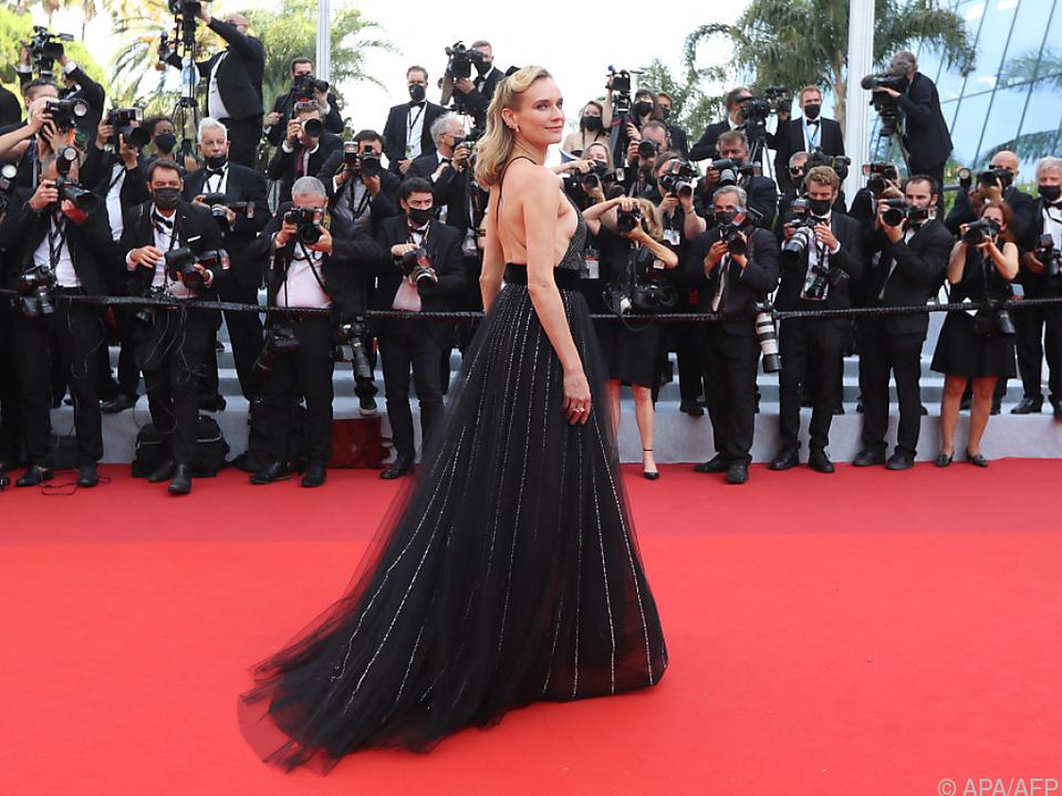Kruger sorgte heuer in Cannes für Aufsehen