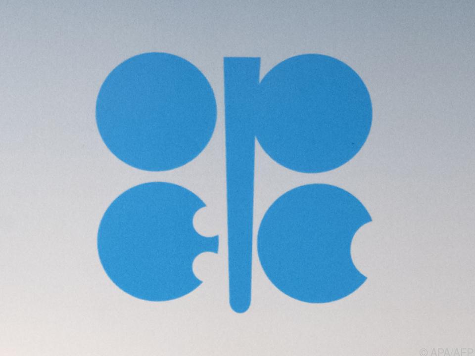 Logo der OPEC, die ihren Sitz in Wien hat