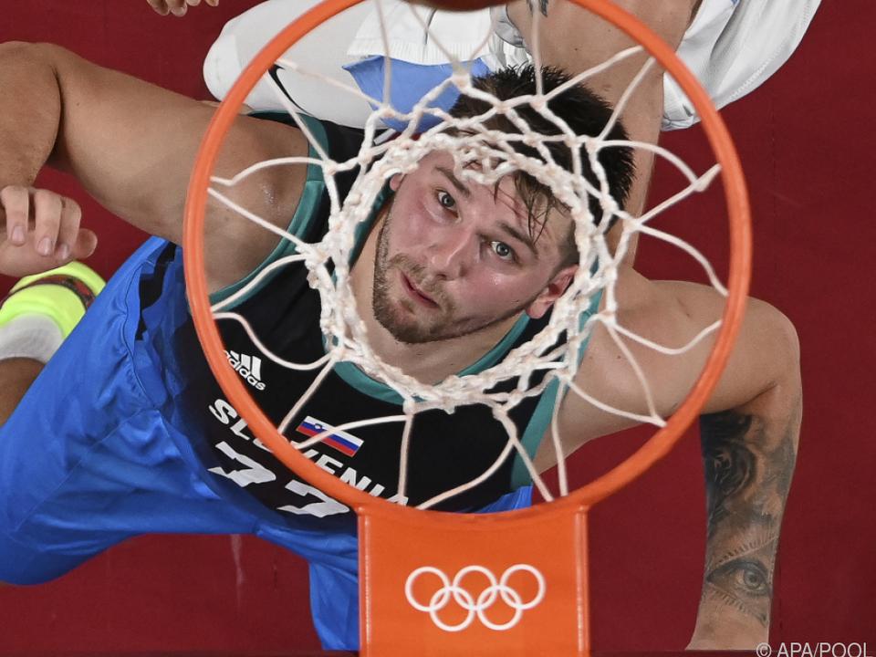 Luka Doncic führte Slowenien im Alleingang zum Sieg