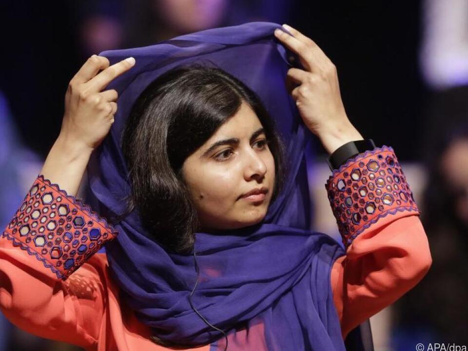 Malala Yousafzai lebt heute in England