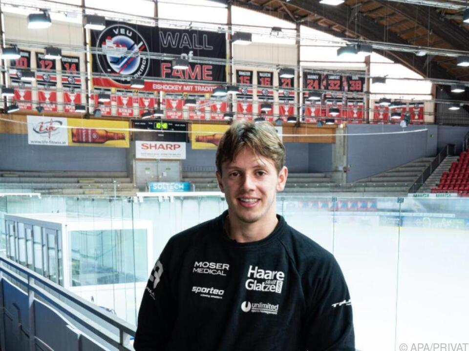 Marco Rossi absolviert derzeit ein Solotraining in Lustenau