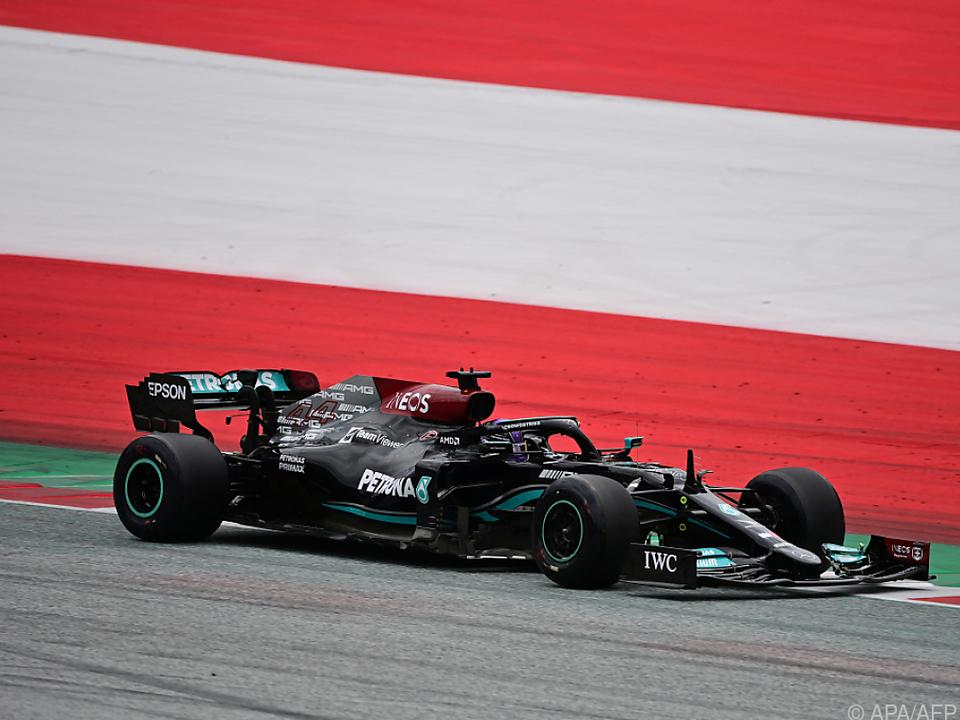 Lewis Hamilton gelang eine überraschende Freitags-Bestzeit