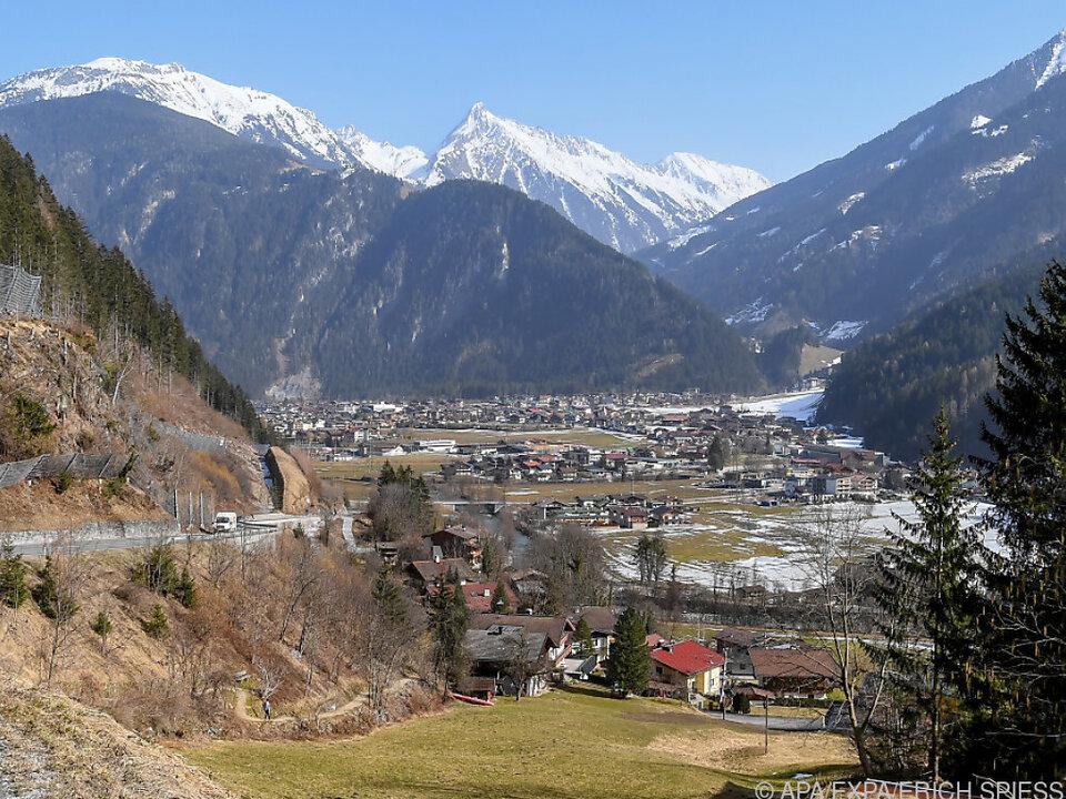 Mayrhofen im Zillertal wurde wegen Virusmutante kurzzeitig abgeriegelt
