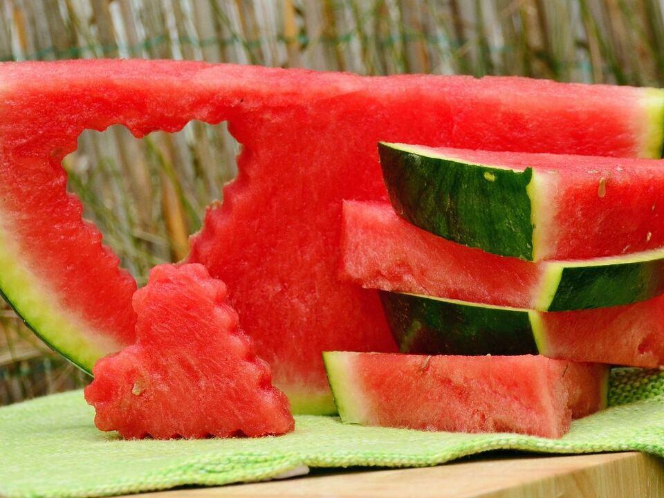 melone wassermelone sommer