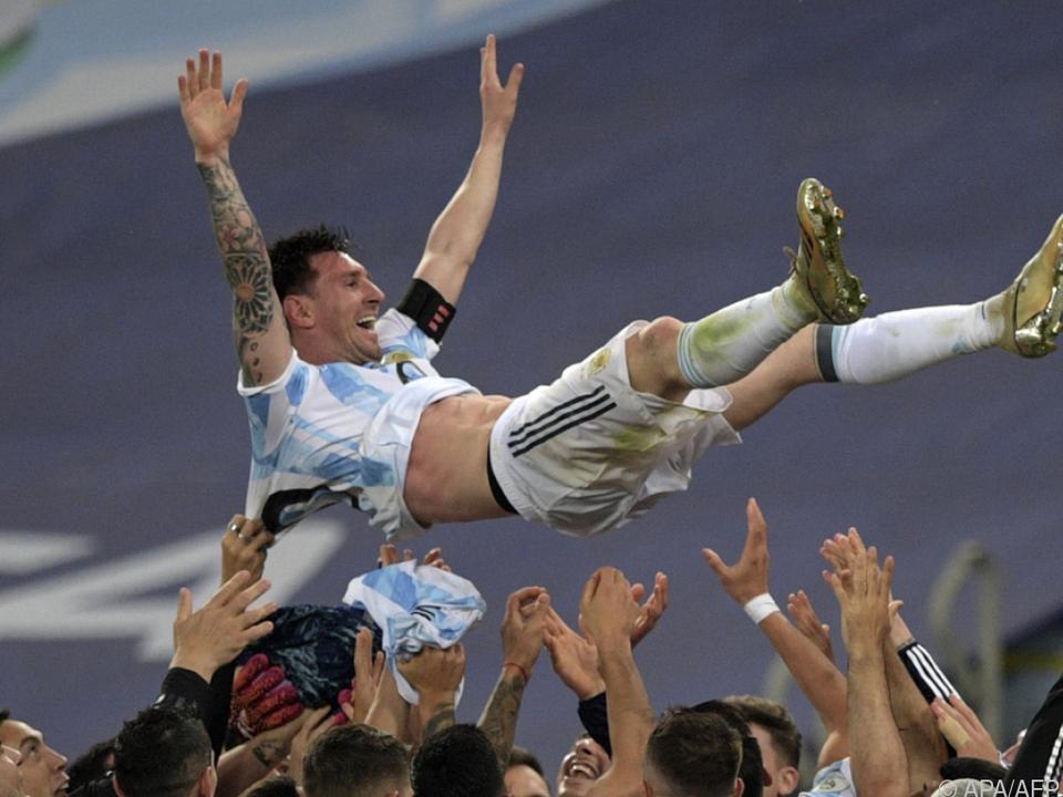 Messi ließ mit Copa-Titel einen Traum wahrwerden