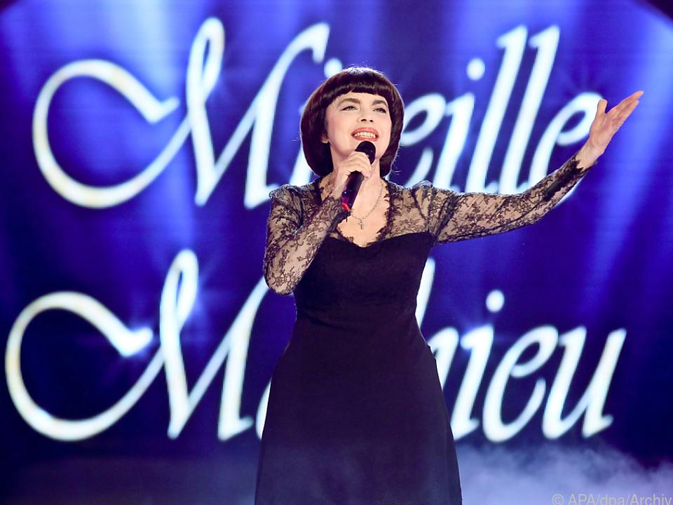 Mireille Mathieu blieb ihrem Stil über die Jahre treu