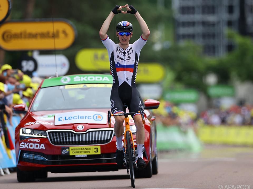 Mohoric jubelt über ersten Tour-Sieg