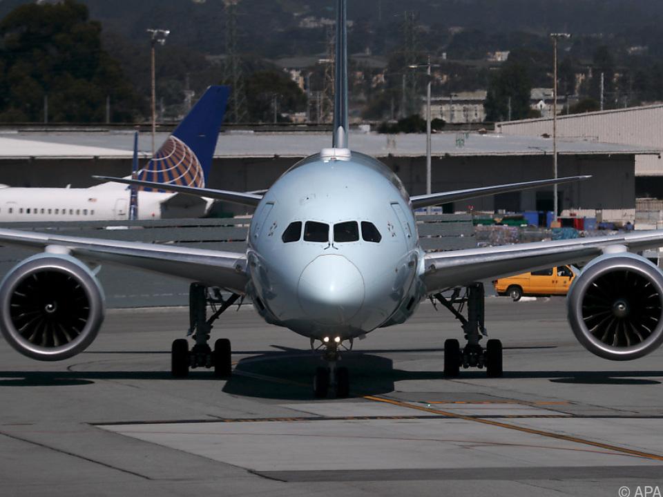 Nicht ausgelieferte Boeing Dreamliner mit Problemen