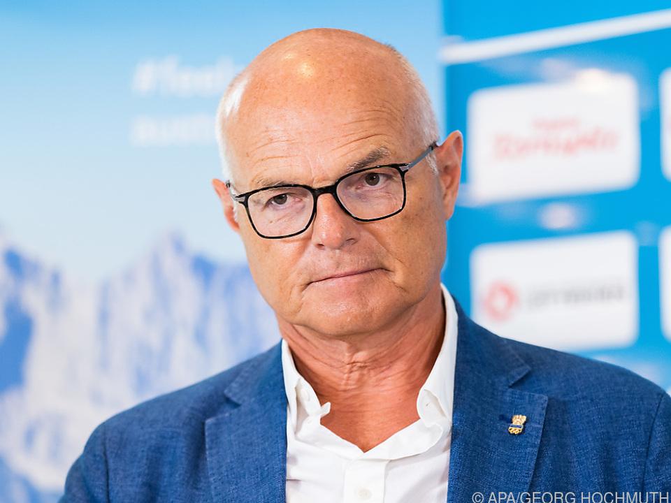 ÖOC-Präsident Stoss darf zufrieden Zwischenbilanz ziehen