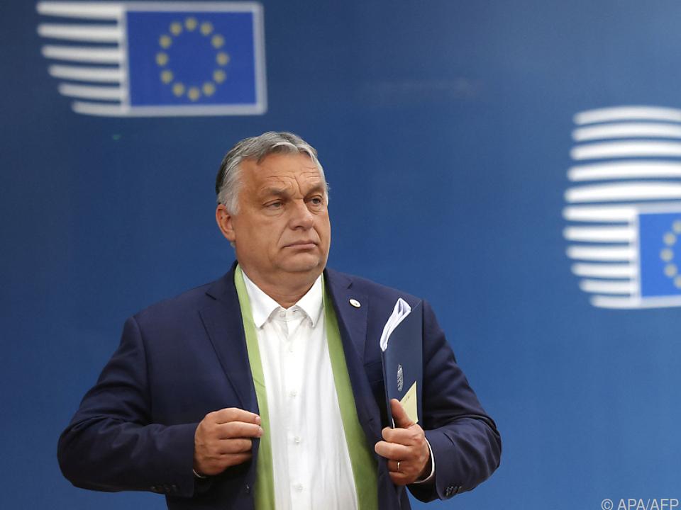 Orban gab sich kämpferisch
